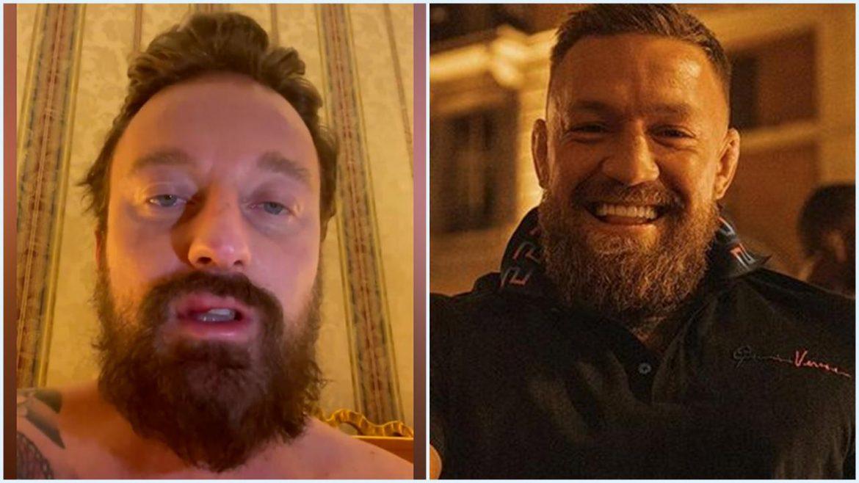 Francesco Facchinetti preso a pugni da Conor McGregor: «Aggredito senza un motivo, sono qui per miracolo»