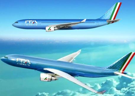 Presentati i nuovi aerei Ita, a Fiumicino la protesta dei lavoratori Alitalia